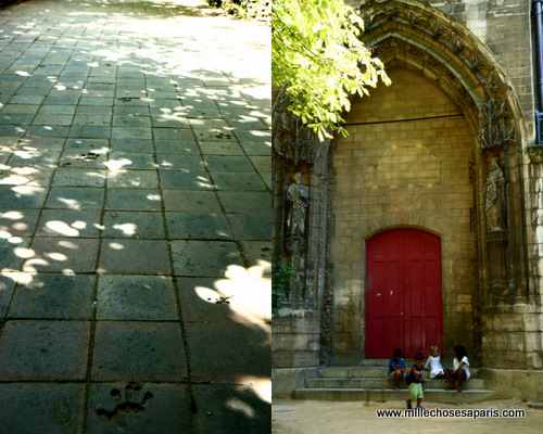 Cluny jardin medieval
